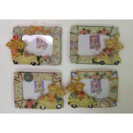 """100 Units of 3""""x2"""" Bears On Wheels Picture Frame - Picture Frames"""