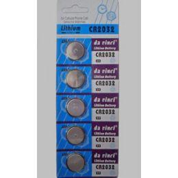 40 Units of Cr2032 Batteries(5 Pc.) - Batteries