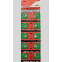 80 Units of Ag5 Batteries(10 Pc.) - Batteries