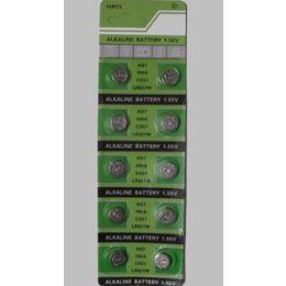 80 Units of Ag7 Batteries(10 Pc.) - Batteries