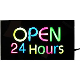 20 Units of Led Open 24 Hours Sign - Signs & Flags