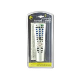 24 Units of 5 Device Universal Remote Control - Television Antennas & Remote Controls