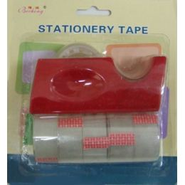 144 Units of 6pc Tape and Dispenser Set