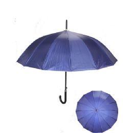 24 Units of Navy Umbrella - Umbrellas & Rain Gear