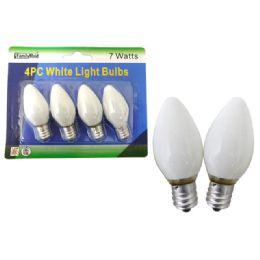 72 Units of 4pc White Lightbulbs - Lightbulbs
