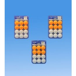 96 Units of 12 Pieces Ping Pong Balls In Blister - Balls