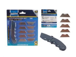 96 Units of 11 Piece Utility Knife Set - Tool Sets
