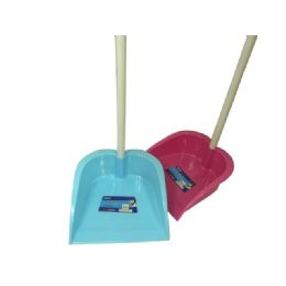 48 Units of Dust Pan With Handle - Dust Pans