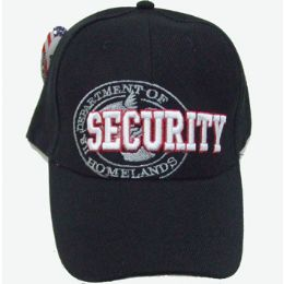 144 Units of Security Cap - Hats With Sayings