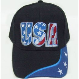 72 Units of USA Cap - Hats With Sayings