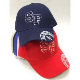 72 Units of Sf Baseball Cap - Hats With Sayings