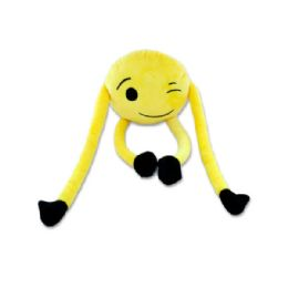 18 Units of Hanging Emoticon Plush Character - Plush Toys