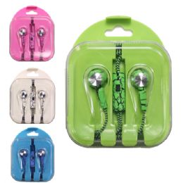 48 Units of Earphone Assorted Colors - Headphones and Earbuds