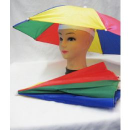 48 Units of 15 INCHES UMBRELLA HAT - Funk Headwear