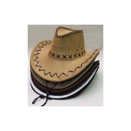 60 Units of Felt Cowboy Hat - Cowboy & Boonie Hat