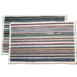 72 Units of Floor Mat Striped - Bath Mats