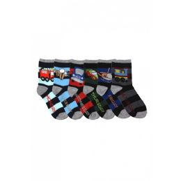 144 Units of Boys Days Of The Week Crew Socks - Boys Crew Sock