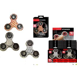 24 Units of Play Ball Collection Graphic Spinners - Fidget Spinners