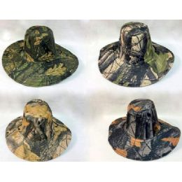 24 Units of Wholesale Camo Boonie/ Fishing Hat - Cowboy & Boonie Hat