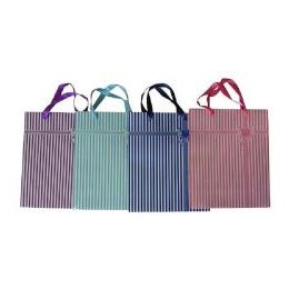144 Units of Wholesale Large Everyday Gift Bag with Satin Handle
