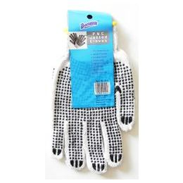 96 Units of Wholesale Pvc Dotted Gloves Work Home Garden Automotive - Working Gloves