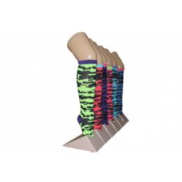 240 Units of Girls Camo Pattern Knee High Socks - Girls Knee Highs