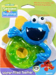 72 Units of Sesame Street Baby Water Teether - Baby Accessories