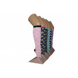 240 Units of Girls Polka Dot Knee High Socks - Girls Knee Highs