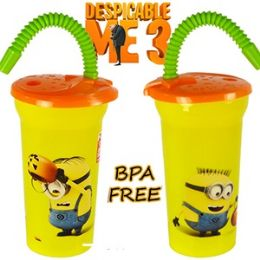 20 Units of Despicable Me Acrylic Spill Proof Tumblers - Plastic Drinkware