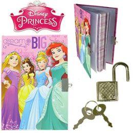 48 Units of Disney's Princess Diary W/ Lock - Dry Erase
