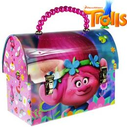 24 Units of DREAMWORKS TROLLS LUNCH BOX PURSES. - Lunch Bags & Accessories