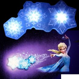 12 Units of DISNEY'S FROZEN SNOWFLAKE LIGHT DANCE - Night Lights