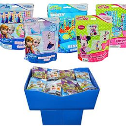 24 Units of GIRLS ASSORTED LICENSED BINGO & MEMORY MATCH GAMES - Card Games