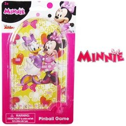 24 Units of Mini Minnie Mouse Pinball Games - Dominoes & Chess