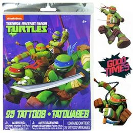 72 Units of TMNT TEMPORARY TATOOS - Tattoos and Stickers