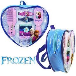 36 Units of 11 Piece Disney's Frozen Beauty Set Mini Backpacks - Backpacks
