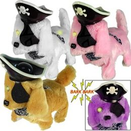 48 Units of WALKING PIRATE DOGS W/SOUND. - Animals & Reptiles