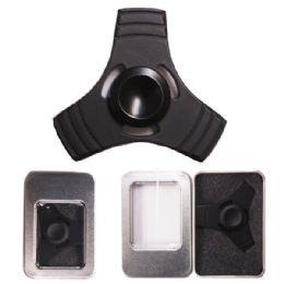 96 Units of Metal Spinner Black - Fidget Spinners