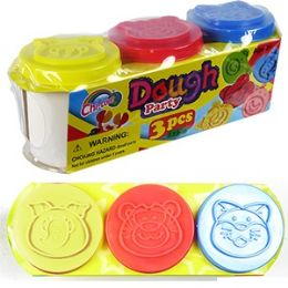 48 Units of DOUGH PARTY MODELING CLAY. - Clay & Play Dough