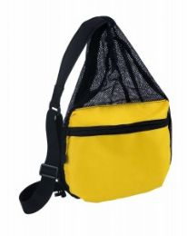 48 Units of One Strap/sling Mesh Body Backpack - Backpacks