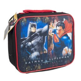 12 Units of Lunch Bag Batman And Superman Insulated - Lunch Bags & Accessories