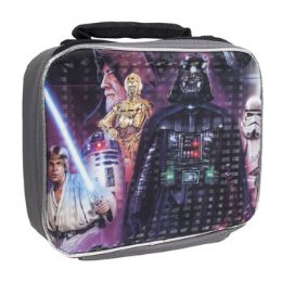 12 Units of Star Wars Insulated Lunch Bag - Lunch Bags & Accessories