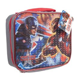 12 Units of Captain America Insulated Lunch Bag - Lunch Bags & Accessories