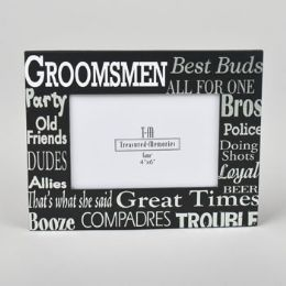 24 Units of 4x6 Photo Frame Groomsmen - Picture Frames