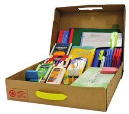 6 Units of Geddes Elementary School Supply Kit - School Supply Kits