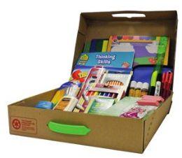 4 Units of Geddes Primary School Supply Kit - School Supply Kits