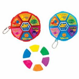 48 Units of Super Fruity Scented Kneaded Eraser Wheel - Erasers