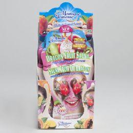96 Units of Facial Masque Dragon Fruit Sauna .5oz 8-12pc Counter - Cosmetics