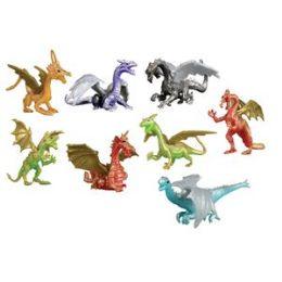 200 Units of Dragon Figures - Animals & Reptiles