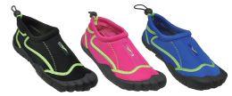 30 Units of Womans Aqua Shoes Assorted Color - Women's Aqua Socks